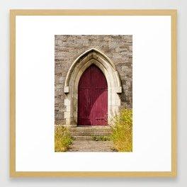 Church Door Framed Art Print
