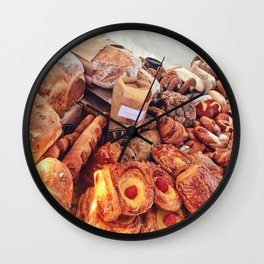 Delicious Choices Wall Clock