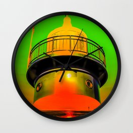 Lighthouse romance 100 Wall Clock