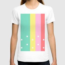 starry summer night T-shirt