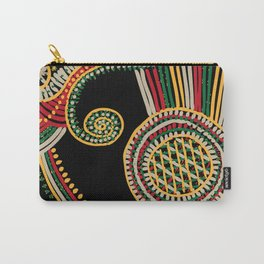 mystic rasta spiral Carry-All Pouch