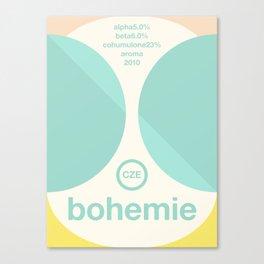bohemie single hop Canvas Print