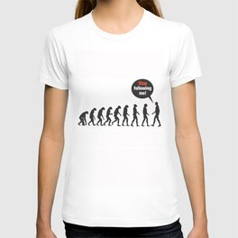 Evolution. Stop Following Me T-shirt