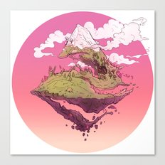 Spiral Mountain Canvas Print