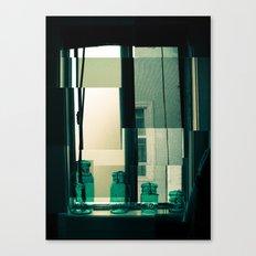 Window Cubism. Canvas Print