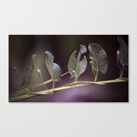 eat Canvas Prints featuring Eat by CrookedHeart