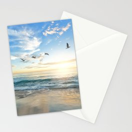 Beach Scene 34 Stationery Cards