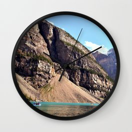 Moraine Lake 2 Wall Clock