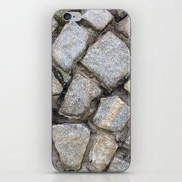 Cobbled Stones iPhone Skin
