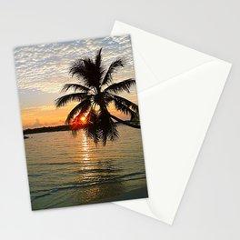 Maledives - Sunset Stationery Cards