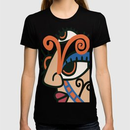 Aries Abstract Illustration T-shirt