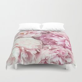 A bunch of peonies Duvet Cover