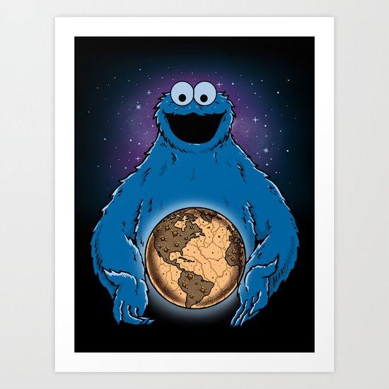 Cookie World Art Print