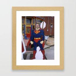 Supererik Framed Art Print