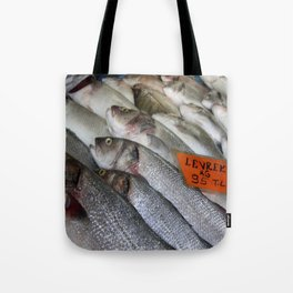 Freshwater Perch for Sale Tote Bag