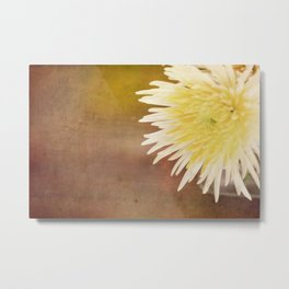 flower on table Metal Print