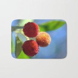 Strawberry tree fruits 8697b Bath Mat
