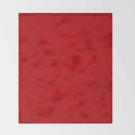Red suede Throw Blanket