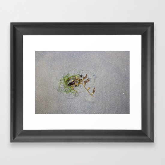 of the sea: one Framed Art Print