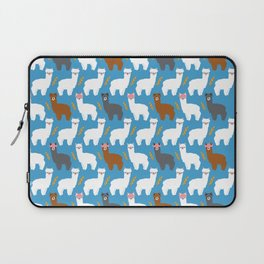 Pink Hair Alpacas I Laptop Sleeve