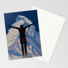 Vintage Zermatt Switzerland Travel Stationery Cards