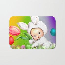 Easter Lawn Celebration Bath Mat