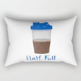 Half Full Rectangular Pillow