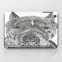 pitbull iPad Cases featuring  American Pitbull Terrier by DiAnne Ferrer