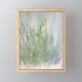 First Day in Helen's Meadow Framed Mini Art Print