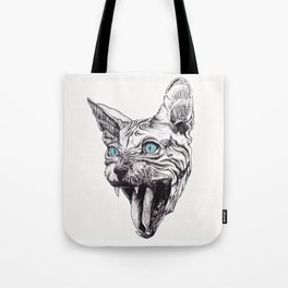 Sphynx Cat Tote Bag