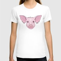 pig T-shirts featuring Pig by Compassion Collective