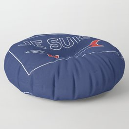 JE SUIS SHARKS Floor Pillow