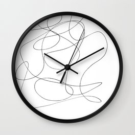 Took Too Much Acid Wall Clock