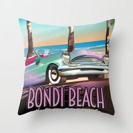 Bondi Beach New South Wales australia Throw Pillow