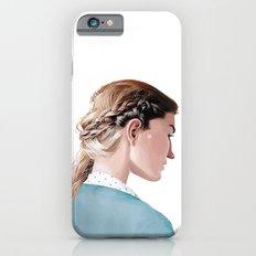 Blond Girl Slim Case iPhone 6s