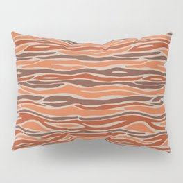 Orange desert Pillow Sham