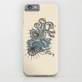 BRAVE THE DEPTHS iPhone Case