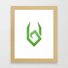 Villipede Logo Framed Art Print