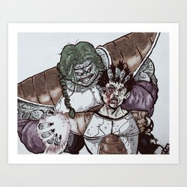 Don't Mess With Zarbon Art Print