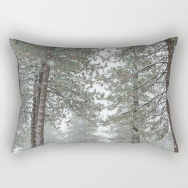Let It Snow on the Streets Rectangular Pillow