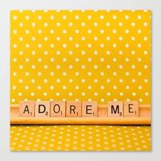 Adore Me Canvas Print