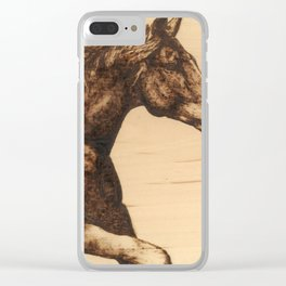Chasing the Horizon Clear iPhone Case