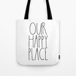 Our Happy Place Tote Bag