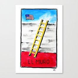 El Muro Canvas Print