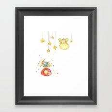 Baby weight Framed Art Print