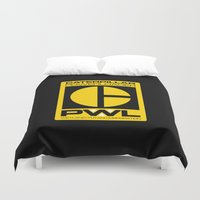 ripley Duvet Covers featuring Weyland/Cat PowerLoader by IIIIHiveIIII