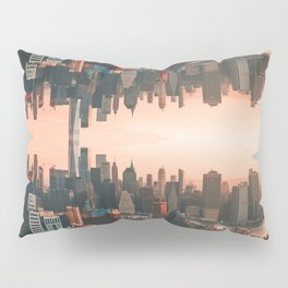 New York City Skyline Surreal Pillow Sham