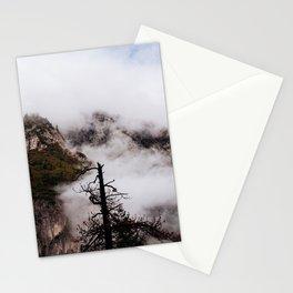 Misty Tree at Yosemite Stationery Cards