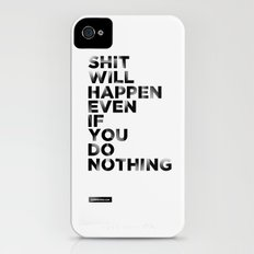 Even if You Do Nothing Slim Case iPhone (4, 4s)