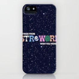 ASTROWORLD TRAVIS iPhone Case